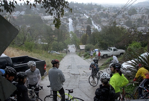 Eldred St from the top. Some say it's steeper than Fargo... Photo by @WolfPackHustle