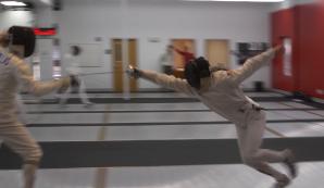 modern pentathlon fencing